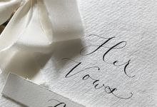 Ritchie & Davina Wedding Vows by Tulisanana Calligraphy