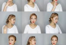 Korean Look Make-up and Hairstyle by WillieHaz Hair & Beauty
