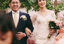 Ivory Wedding Gown  by FANNY KARTIKA