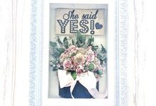 She said yes! by CONSERVÉ FLOWER PRESERVATION