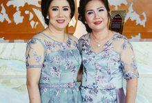 Sangjit Dress for Mrs Merry & Mrs Melia by Berta Chandra Couture