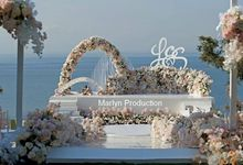Ayana Sky Garden Wedding ceremony by Marlyn Production