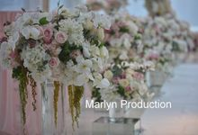 Simple & Romantic Dinner Decoration by Marlyn Production