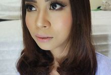 test wedding makeup by kintan yulita