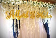 Wedding of Albert & Nieta by Yulika Florist & Decor