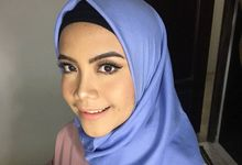 party makeup for miss vidah by kintan yulita