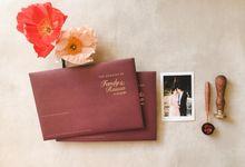 Fandy & Raissa by Peony and Brides Invitation