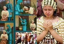 Saung Siraman, Upacara Adat, Siraman, Sawer dan huap lingkung by Citra Griya Busana Rias