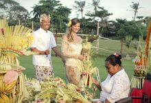 Holy Balinese Wedding for Kadidja & Adriano by Tugu Hotels