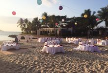 Beach Wedding by Shangri-La's Tanjung Aru Resort & Spa