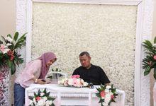 RYNA DAN EKI - GEDUNG CHANDRACA CIJANTUNG by Kencana Mas Wedding & Event Organizer