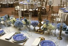A blue wedding by C&G Wedding and Event Designer