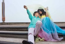 Suby + Winda - Engagement Photos by Spotlite Photography