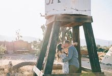 Pioneertown Engagement The Desert is Full of Wildflowers and Lovebirds by Pretty Branch Wedding Photo & Video