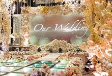 The wedding of Robby & Valerie by Eden Design