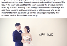 Real Wedding Testimonials by Mojoideas