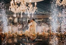 Eldon and Ivana Wedding on 14th December 2019 by The edge
