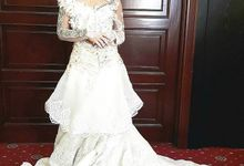 Akad and Reception our beautiful bride Tiara by Didadeux Wedding House