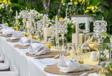 Yellow White and Green by CITTA Wedding