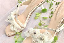 Wonderful White Wedding by Aveda Footwear