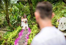 Initimate wedding venue in Ubud Bali by Villa Beji Indah Ubud Bali