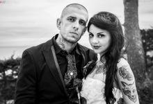 Tattoed Wedding by Fabio Zenoardo Photography