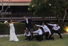 Renewal Vow and Dinner Reception In Paradise by AVAVI BALI WEDDINGS