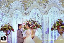 wedding of Sari & Andy by UKETSUKEART