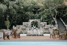 The Wedding Of Novi & Aris by MARITZA PLANNER|ORGANIZER|DECORATION
