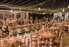 White Rustic by Bali Izatta Wedding Planner & Wedding Florist Decorator