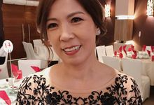 Occasion makeover by Jocelyn Tan Make Up