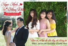 Ngoc Minh & Hong Diem Wedding by PicCell Vietnam
