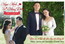 Ngoc Minh & Hong Diem Wedding by PicCell Vietnam