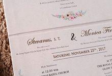 STEVANUS & MONICA by SentimeterCard