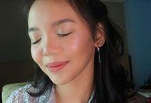 Bridesmaid Make Up by Make Up by Mutiara Fallahdani