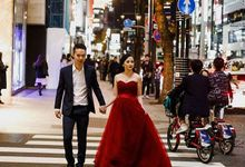 prewedding Japan by nof makeup