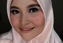 Hijab Bridesmaids by Arini Makeup Artist