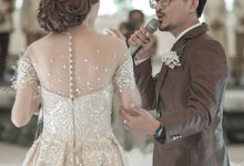 wedding of Lex n Dinda by janing entertaintment
