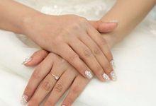 Wedding Fake Nails by xx.nailist