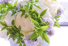 Bridal bouquet for spring  by CARPO FLEURISTE by Kumiko Ishii