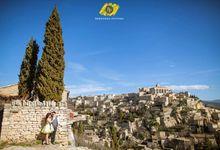 Sunny Day In Provence   Anthony+Youliana by Bernardo Pictura