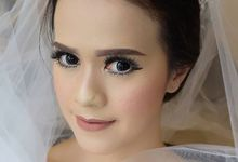 wedding make up astri by nof makeup