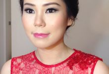 Engagement Makeup Hairdo by Marlina Wu MUA