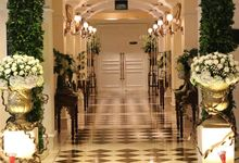 Wedding at Magnolia Ballroom by Hotel Gran Mahakam