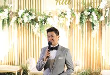 MC Wedding Suasana Restaurant Jakarta - Anthony Stevven Intimate MC by Anthony Stevven