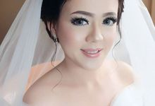 Wedding make Up hendry & Silvi by nof makeup