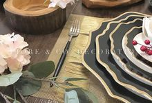 RUSTIC INSPIRED TABLE SETTING by FIORE & Co. Decoration