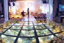 The Wedding of Fendy & Cloudia by Eden Design