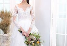 Bridal Gown Collection - Floraison by La Belle Couture Weddings Pte Ltd