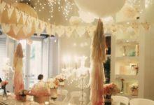 À la poupêe... by Tea Rose Wedding Designer